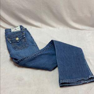 True Religion Billy Boot cut flapped pocket Girls